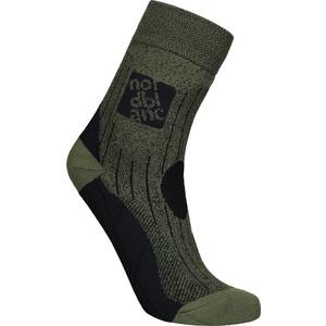 Kompresný športové ponožky NORDBLANC Starch NBSX16379_KHM, Nordblanc