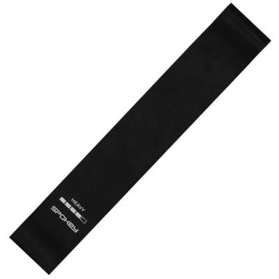Spokey Fitness guma ARTIO II čierna, ťažké, Spokey