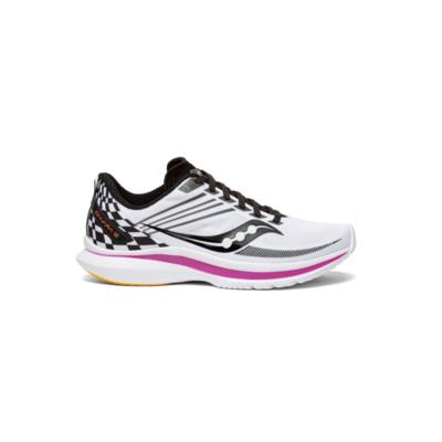 Dámske bežecké topánky Saucony Kinvara 12 Reverie biele, Saucony