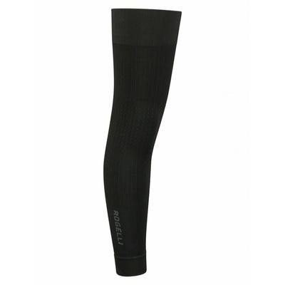 Rogelli SEAMLESS - elastické návleky na nohy čierna