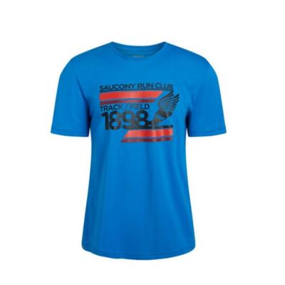 Pánske tričko Saucony Blue