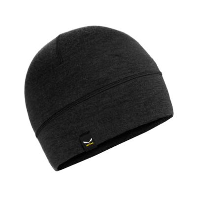 zimné čiapky Salewa Cristallo Beanie black out 28169-0910