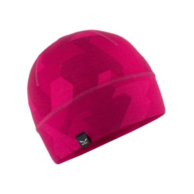 zimné čiapky Salewa Cristallo Beanie rhodo Camou 28169-6319