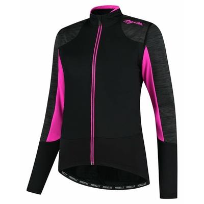 Dámska zimná bunda Rogelli Glory čierna-šedá-ružová ROG351078, Rogelli