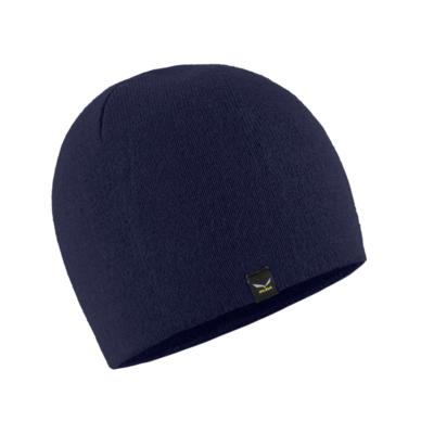 zimné čiapky Salewa Sella Ski Beanie navy blazer 28171-3960, Salewa