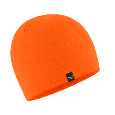 zimné čiapky Salewa Sella Ski Beanie fluo orange 28171-4570, Salewa
