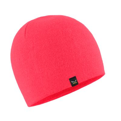 zimné čiapky Salewa Sella Ski Beanie fluo coral 28171-6080, Salewa