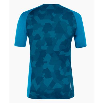Pánske termo oblečenie triko Salewa Cristallo warm merino responsive Cloisonne blue 28205-8660, Salewa