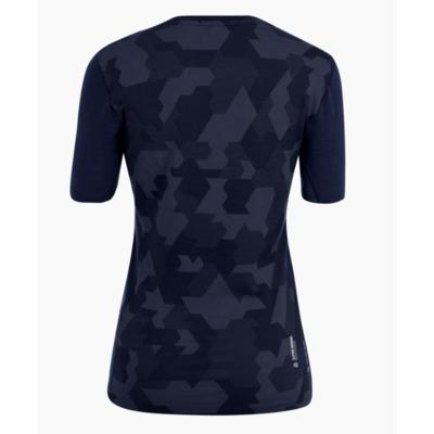 Dámske termo oblečenie tričko Salewa Cristallo warm merino responsive navy blazer 28208-3960, Salewa