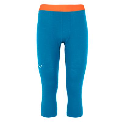 Pánske spodky Salewa Cristallo Warm Merino 3/4 Cloisonne blue 28209-8660, Salewa