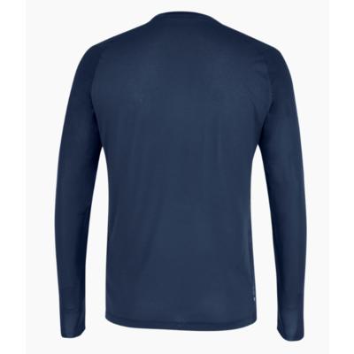 Pánske termo oblečenie tričko Salewa Seceda Dry long sleeve tee navy blazer 28243-3960