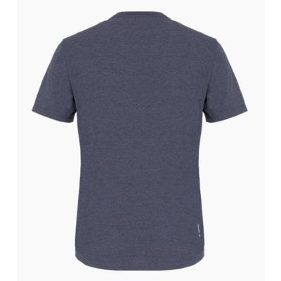 Pánske tričko Salewa Printed Box Dry premium navy melange 28259-3986