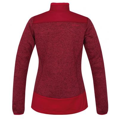 dámsky fleecový sveter na zips Husky Alan L tm. purpurová, Husky