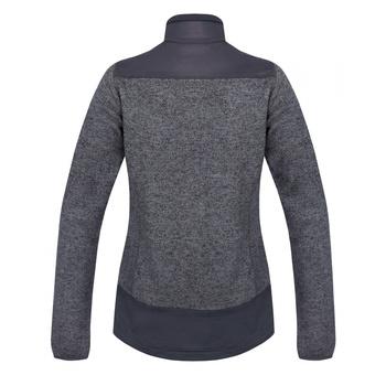 dámsky fleecový sveter na zips Husky Alan L tmavo šedá, Husky