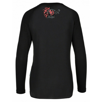 Dámske funkčné tričko Kilpi EXPLOSION-W čierne, Kilpi