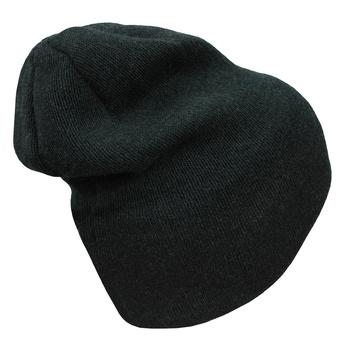 Pánske merino čiapka Husky Merhi 2 khaki melír, Husky