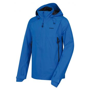 Pánske outdoorové oblečenie bunda Husky Nakron M neónová modrá, Husky