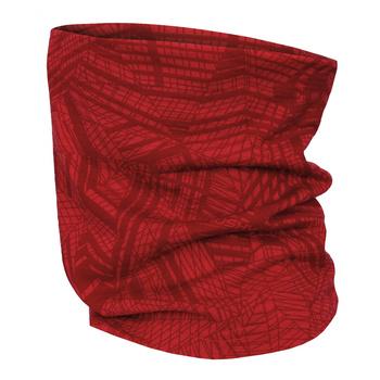 Multifunkčné merino šatka Husky Merbufe červená, Husky
