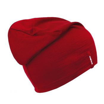 merino čiapky Husky Merhi červená, Husky