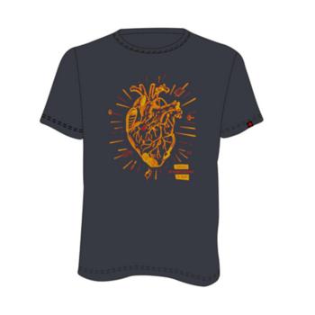 Tričko Direct Alpine Flash anthracite (heart), Direct Alpine