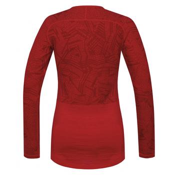 Dámske tričko Husky Merino červená, Husky