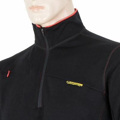 Pánska mikina Sensor Merino Wool Upper čierna 12110042, Sensor