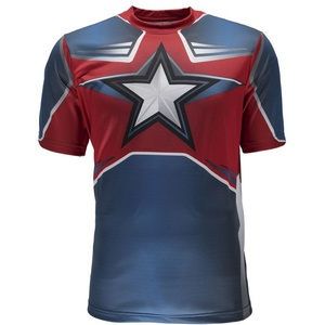 Tričko Spyder Men's Marvel S/S Tech Tee Captain America 179208-402, Spyder