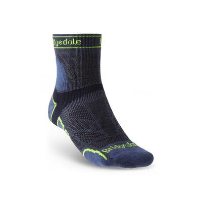 Ponožky Bridgedale TRAIL RUN LW T2 MS 3/4 CREW Blue/436, bridgedale