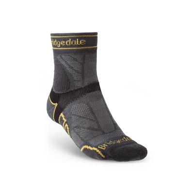 Ponožky Bridgedale TRAIL RUN LW T2 MS 3/4 CREW Gunmetal/866, bridgedale