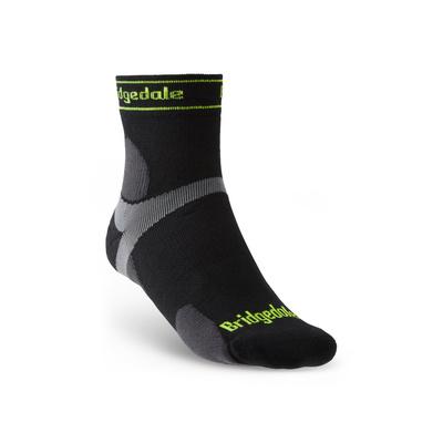 Ponožky Bridgedale TRAIL RUN UL T2 MS 3/4 CREW Black/845, bridgedale