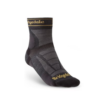 Ponožky Bridgedale TRAIL RUN UL T2 MS 3/4 CREW Gunmetal/866, bridgedale