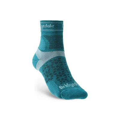 Ponožky Bridgedale TRAIL RUN UL T2 MS 3/4 CREW WQUEEN OF DARKNESS'S Teal/259, bridgedale