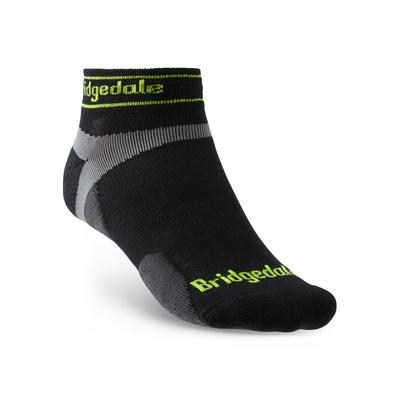 Ponožky Bridgedale TRAIL RUN UL T2 MS LOW Black/845, bridgedale