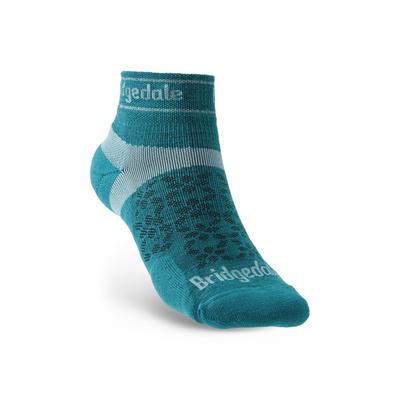 Ponožky Bridgedale TRAIL RUN UL T2 MS LOW Teal/259, bridgedale