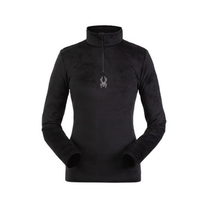 Rolák Spyder Women's Shimmer Bug Velour Fleece T-Neck 194091-001, Spyder