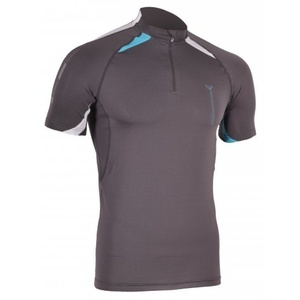 Pánske bežecké triko Silvini Lenta MD391 grey-blue, Silvini