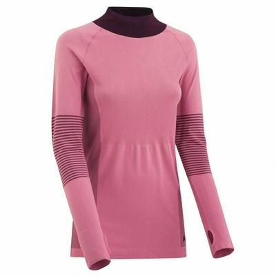 Dámske športové tričko s dlhým rukávom Kari Traa Sofie 622041, ružová