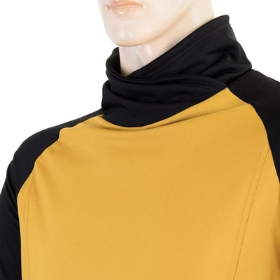 Pánska mikina Sensor Coolmax Thermo mustard / čierna 20200049, Sensor