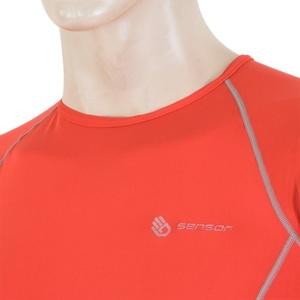 Pánske triko Sensor Coolmax Fresh červené 11101004, Sensor