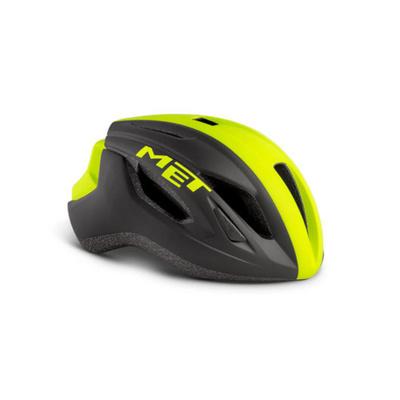 Helma MET Strale čierna / reflex žltá, Met