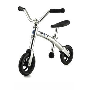 Odrážadlo Micro G-Bike Chopper Silver, Micro