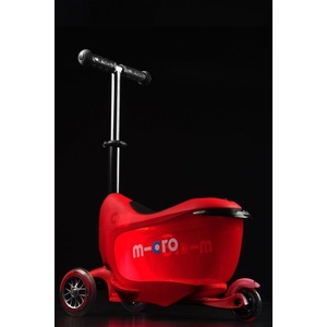 Kolobežka Micro Mini2go Deluxe Plus Red, Micro