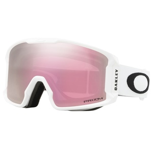Lyžiarske okuliare Oakley LM XM Matte White w / prizm HI Pink OO7093-11, Oakley