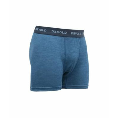 Pánske ľahké pohodlné vlnené boxerky Devold Breeze GO 181 145 A 258A, modré, Devold