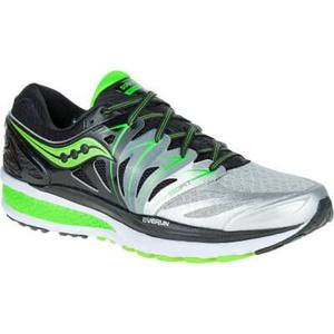 Pánske bežecké topánky Saucony Hurricane ISO 2 Black / Silver / Slime, Saucony