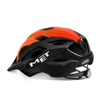 Helma MET Crossover čierna/oranžová, Met