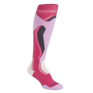 Ponožky Bridgedale Control Fit Midweight Women's 311 raspberry / pink