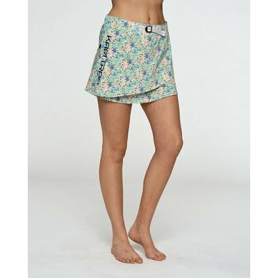 Dámska športové sukňa s integrovanými šortkami Kari Traa signe skort 622803, modrá, Devold