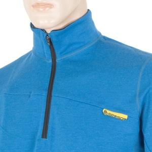Pánska mikina Sensor Merino Wool Upper modrá 12110043, Sensor