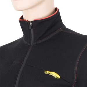 Dámska mikina Sensor Merino Wool čierna 12110048, Sensor